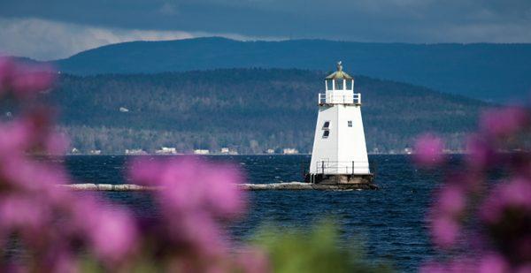 Light house on Lake Champlain